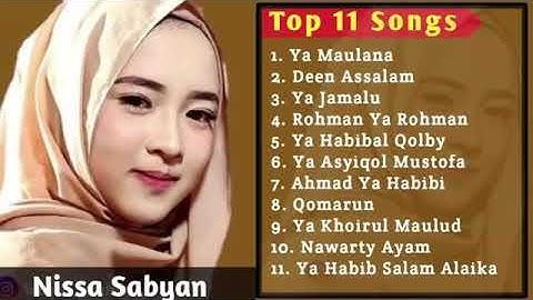 #TOP 11 Songs Nissa Sabyan
