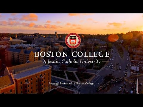 Boston College Institutional Spot 2017-18