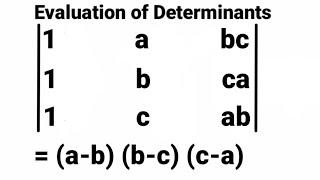 How to solve   determinants using properties || Evaluate using properties of determinants of matrix