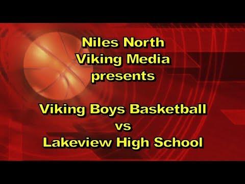 Niles North Viking Boys Basketball vs Lakeview Wildcats