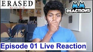 OMG Start all Over!! - Erased Anime Episode 1 Live Reaction (Boku dake ga Inai Machi)