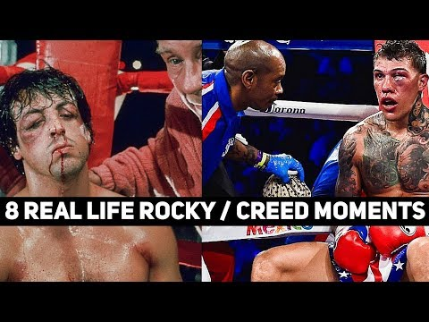 8 Real Life Rocky/Creed Moments in Boxing Redux