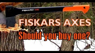 Fiskars Axe Review- Should you buy one?