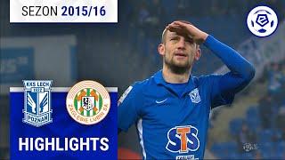 Lech Poznań - Zagłębie Lubin 2:0 [skrót] sezon 2015/16 kolejka 20
