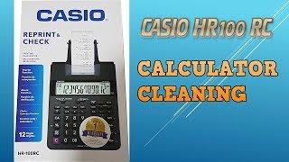Casio HR-100 RC Calculator