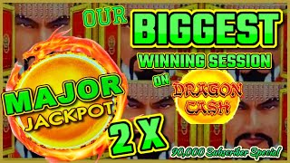 HIGH LIMIT Dragon Link Golden Century MASSIVE HANDPAY JACKPOTS 🐲OVER $20K WIN W/ (2) MAJOR JACKPOTS