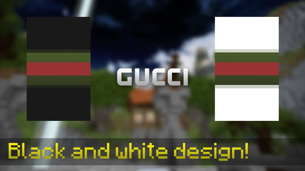 Gucci, Optifine Cape Design #4 - YouTube
