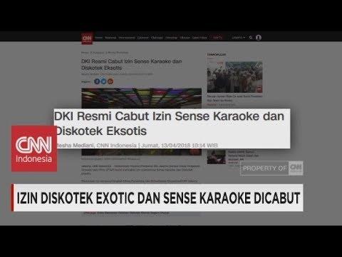 Pemprov DKI Tutup Diskotek Exotic & Sense Karaoke Dicabut
