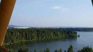 колесо обозрения в Железногорске (Красноярский край)