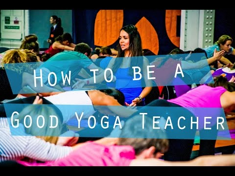 How to be a Great Yoga Teacher | Yoga with Celest Pereira