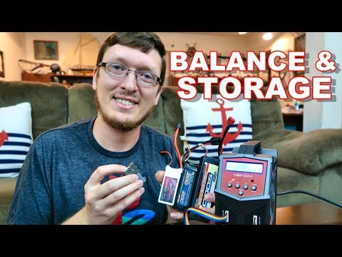 RC LiPo Battery Basics Balance & Storage Charging Pt. 2 - TheRcSaylors