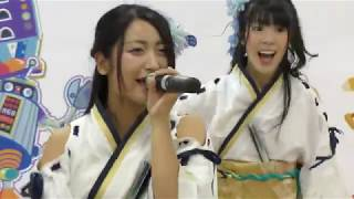 ふくおか官兵衛Girls ヨドバシ博多夏祭り 出演:白石ありさ、中村葵 会...
