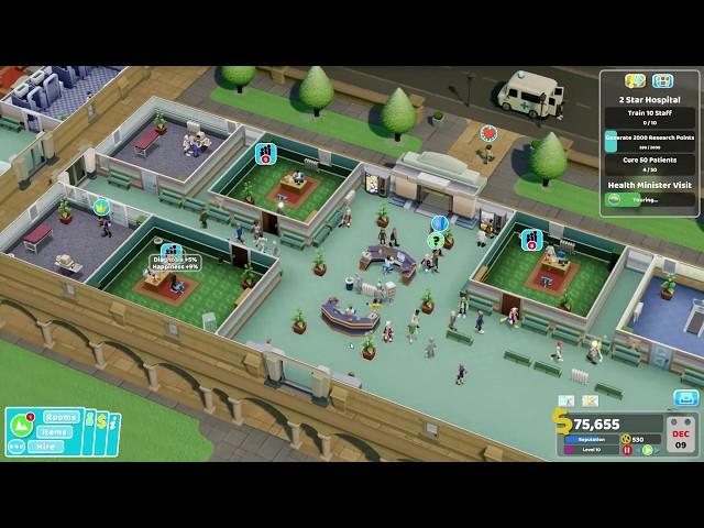Two Point Hospital - Ep 7 - Getting Out of Control