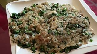 How to fry Chye Poh Kway Teow