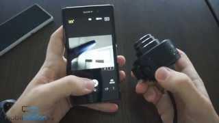 Sony Xperia Z1 и QX10: предварительный обзор смартфона и объектива(Читать на сайте - http://mobiltelefon.ru/post_1379129104.html Sony Xperia Z1 и QX10: предварительный обзор смартфона и объектива. Также..., 2013-09-14T03:28:58.000Z)