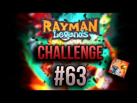 Rayman Legends -- extreme daily challenge. #63