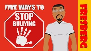"Anti-bullying tips for kids with, ""Five Ways to Stop Bullying!"" (Educational Videos for Students)"
