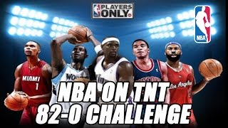 NBA ON TNT ALL PLAYER TEAM! 82-0 CHALLENGE!! NBA 2K17 MYLEAGUE