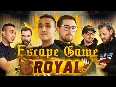 Escape Game Royal : Qui sortira en premier ?