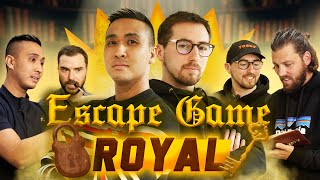 Escape Game Royal : Qui sortira en premier ?