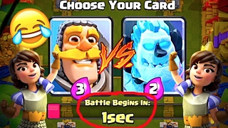 THE HARDEST CHOICE IN CLASH ROYALE | Grand Draft Challenge