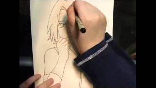 Drawing Sakura Haruno Shippuden