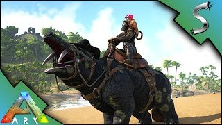 PHIOMIA AND MESOPITHECUS TAMING! CRAZY CLOWN MONKEY! - Ark: Survival Evolved [S4E5]