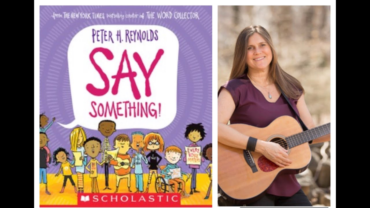 Say Something -based on Peter H. Reynolds book about self expression. Perfect for distance learning