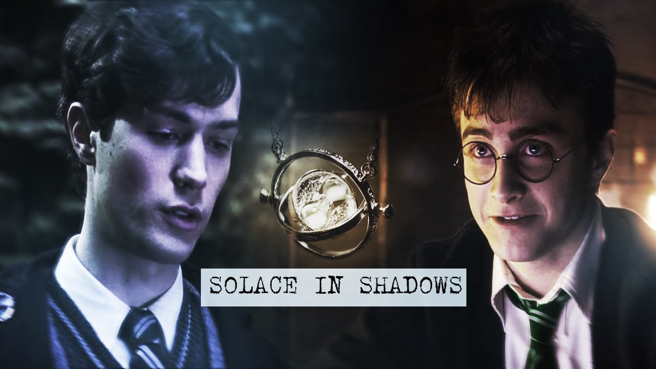 potter+riddle ● solace in shadows (au!time travel)