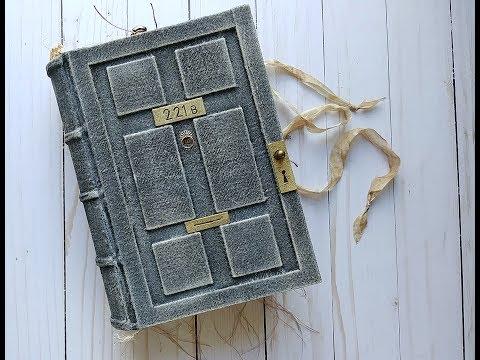 221B Baker Street - Sherlock Holmes - Nik the Booksmith - Junk Journal