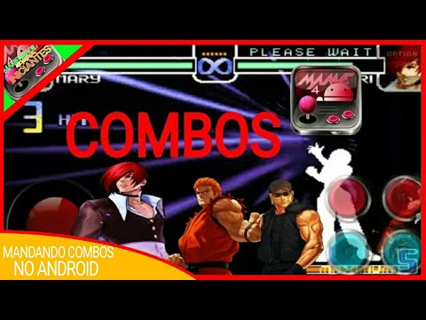 MAME4DROID KOF 2002 COMBOS NO ANDROID!