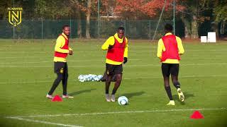 VIDEO: Extraits de l'entraînement du jour