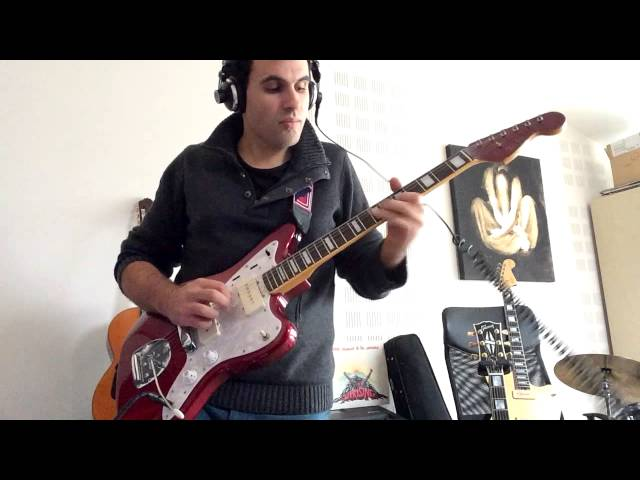 Red Hot Chili Peppers — Walkabout guitar cover  (Jason Lollar pickup