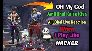 AjjuBhai Ka Badla - Live reaction - Garena Free Fire FT.  @Total Gaming  @Desi Gamers