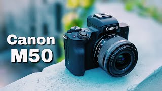 Canon M50 mirrorless camera Review in Bangla | Best Budget 4k Camera for YouTube!!