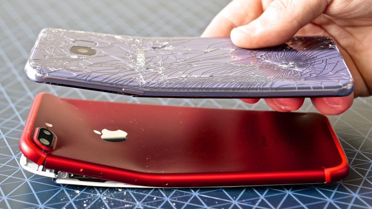 Samsung Galaxy S8 Plus BEND Test vs iPhone 7 Plus!