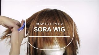 How to Style a Sora Wig