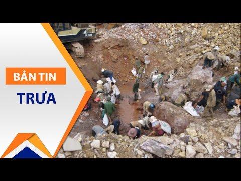 Quảng Nam: Khai thác vàng trái phép tại Bồng Miêu   VTC1