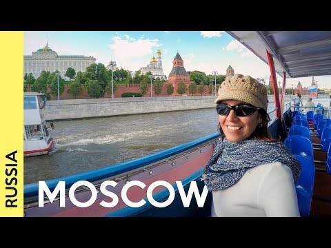 Смотреть Best places to visit in MOSCOW outside Red Square | RUSSIA Vlog 3 онлайн