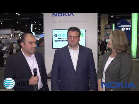 AT T + Nokia = private LTE network for utilities