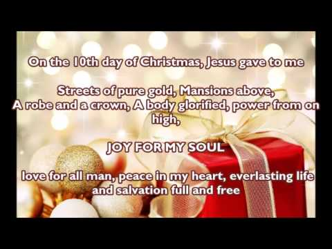 12 days of christmas jesus gave to me instrumental - 12 Days Of Christmas Christian Version