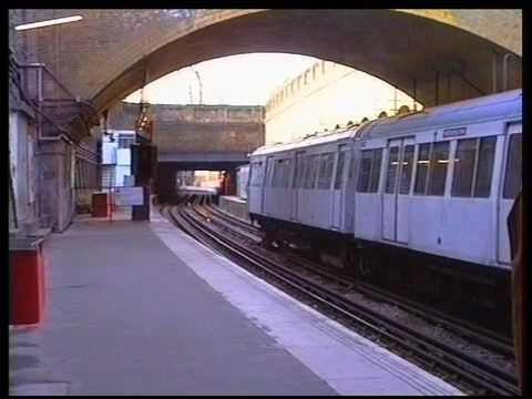 A Stock on the East London Line   part 1 - A film by Fred Ivey