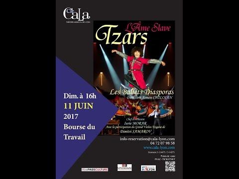 Tzars, l'âme slave - CALA Théâtre Musical de Lyon