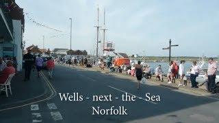 Wells next the Sea  Norfolk.  Out \u0026 About