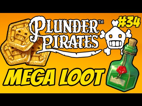 Plunder Pirates #34 - GET MEGA LOOT SUPER EASY (Tips to Upgrade)