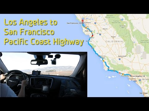 Pacific Coast Highway - LA to SF via the Big Sur
