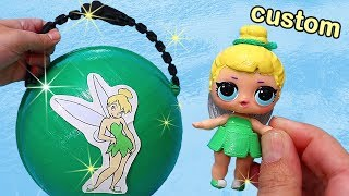 TinkerBell Custom LOL Pearl Surprise ! Toys and Dolls Fun for Kids Opening Surprises | SWTAD