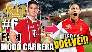EL REGRESO DE JAMES??? NUEVOS FICHAJES!!! - FIFA 18 Monaco Modo Carrera #6