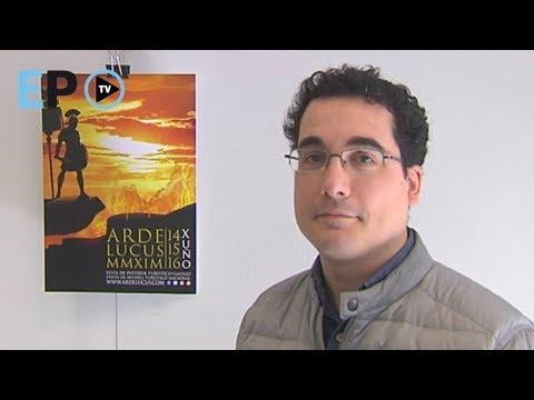 Hablamos con Juan Ramón Morales, autor del cartel de Arde Lucus