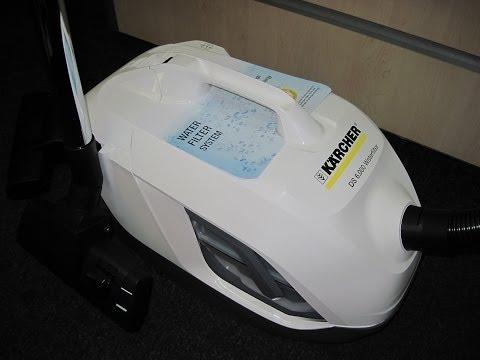 видео: Пылесос с водяным фильтром karcher ds 6.000 [Обзор] waterfilter